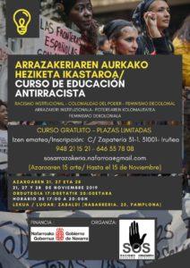 Curso de Educación Antirracista/ Arrazakeriaren Aurkako Heziketa Ikastaroa