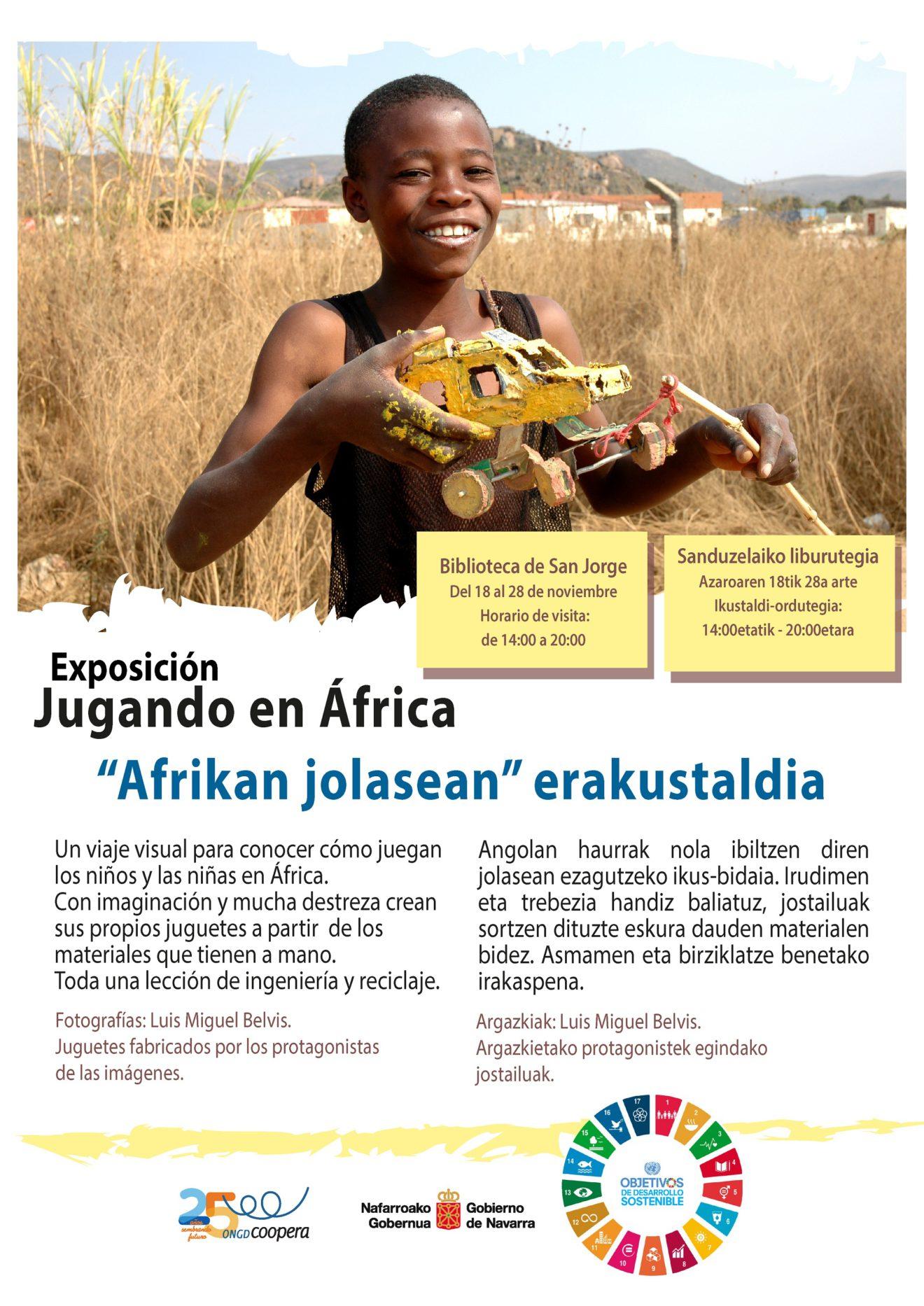 Exposición 'Jugando en África'