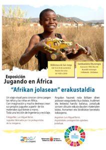 Exposición 'Jugando en África' @ Biblioteca San Jorge