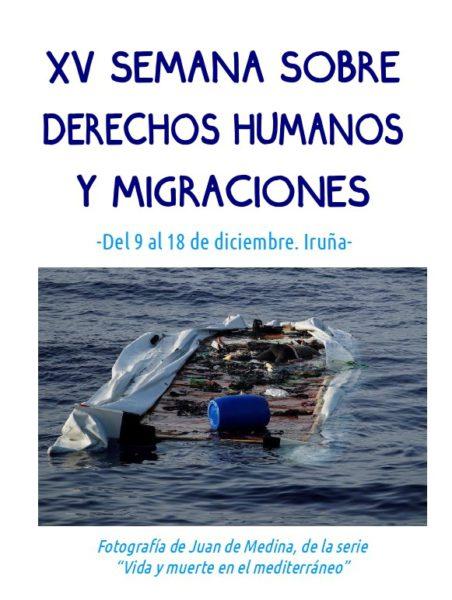 XV Semana sobre Derechos Humanos y Migraciones / Giza Eskubideen eta Migrazioen XV
