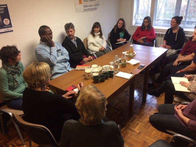 Recibimos la visita de Moussa Sow, representante de la organización senegalesa Avenir De l'Enfant (ADE)
