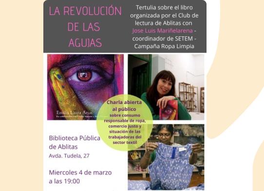 """Tertulia sobre el libro """"La revolución de las Agujas"""""""