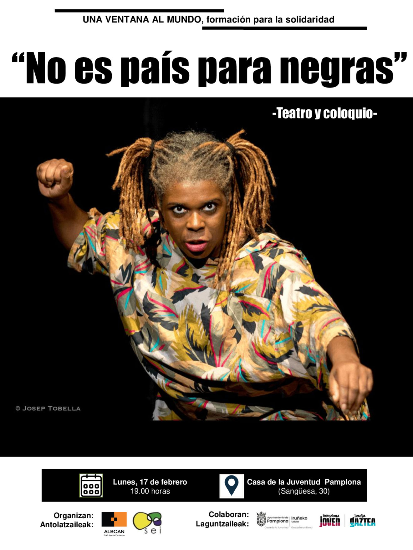 """Teatro y coloquio """"No es país para negras"""""""
