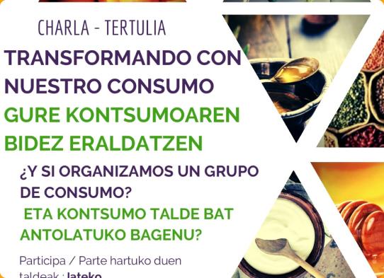 ¿Quieres formar parte de un grupo de Consumo? (fecha por confirmar)