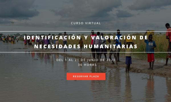 IECAH organiza Curso Virtual: Identificación y valoración de necesidades humanitarias.