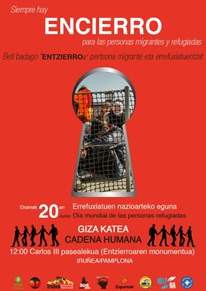 Siempre hay ENCIERRO para las personas migrantes y refugiadas