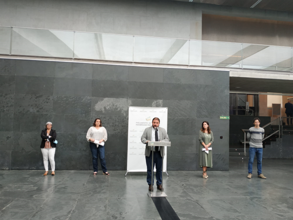 Las entidades sociales reclaman en el Parlamento de Navarra no dejar a nadie atrás