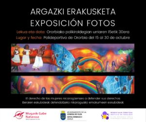 Exposición fotográfica - Mugarik Gabe