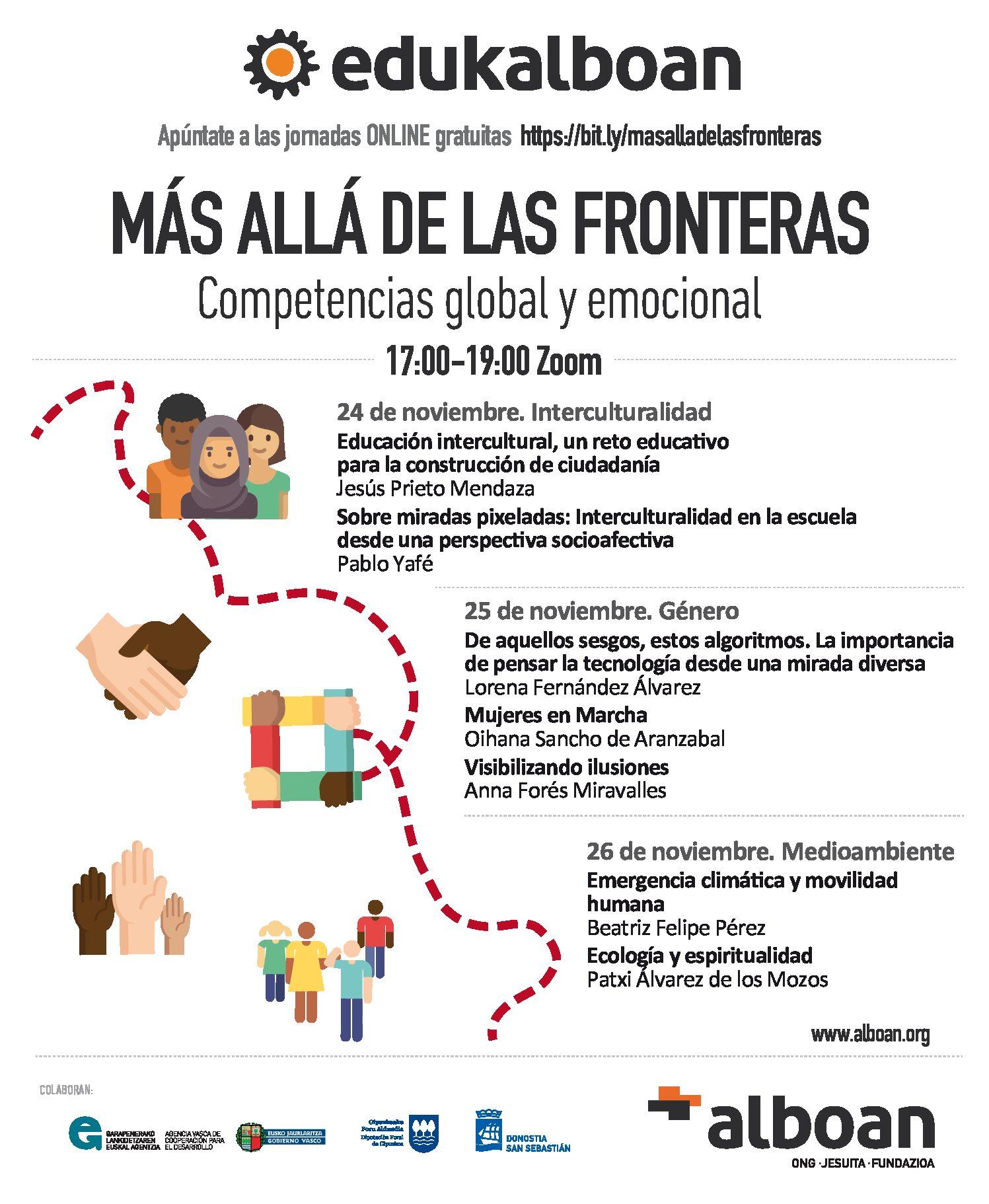 """""""MÁS ALLÁ DE LAS FRONTERAS"""" Competencias global y emocional"""