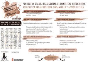 """CURSO ANTIRRACISTA 2020 """"AUTOCRITICA PARA CONSTRUIR PENSAMIENTO Y ACCIÓN CRÍTICA"""""""
