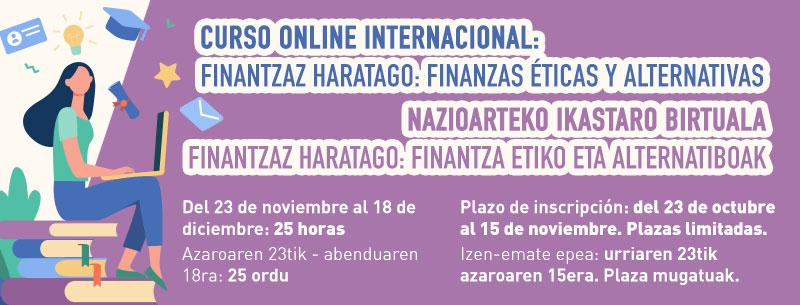 Curso Online Internacional – FINANTZAZ HARATAGO: Finanzas Éticas y Alternativas
