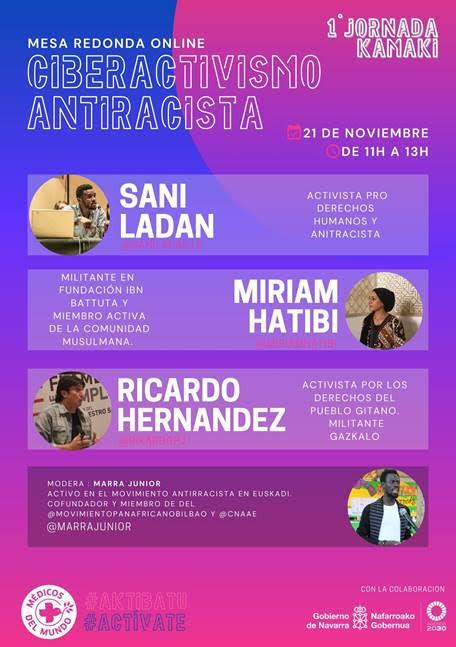 "1º Jornadas Kamaki: ""Ciberactivismo Antirracista"""