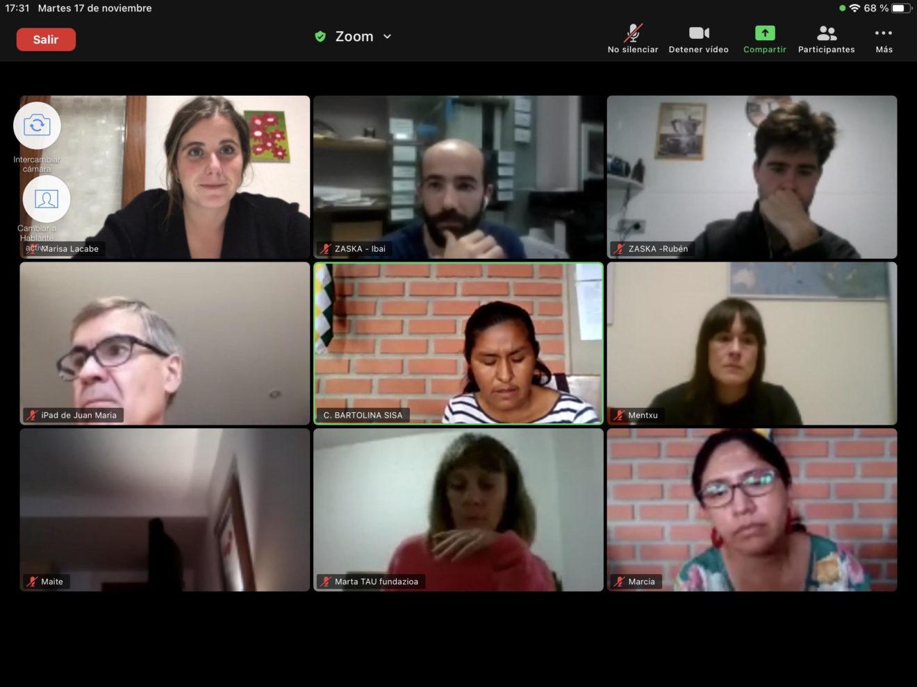 Encuentro Digital Participación y Ciudadanía Global