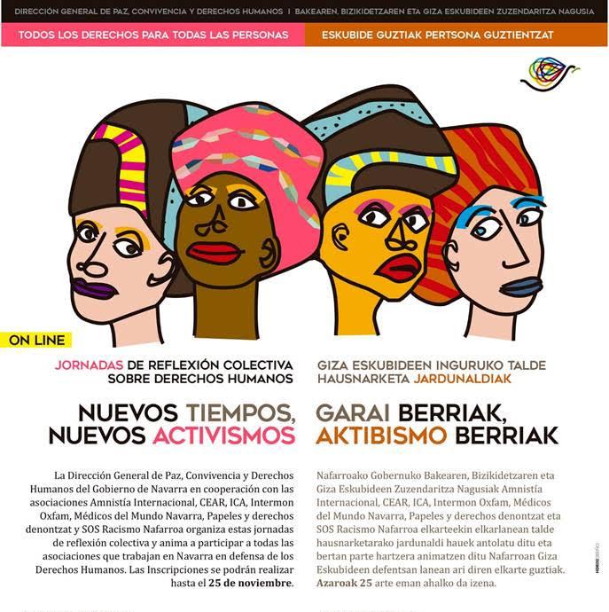 Jornadas de reflexión colectiva: nuevos tiempos, nuevos activismos