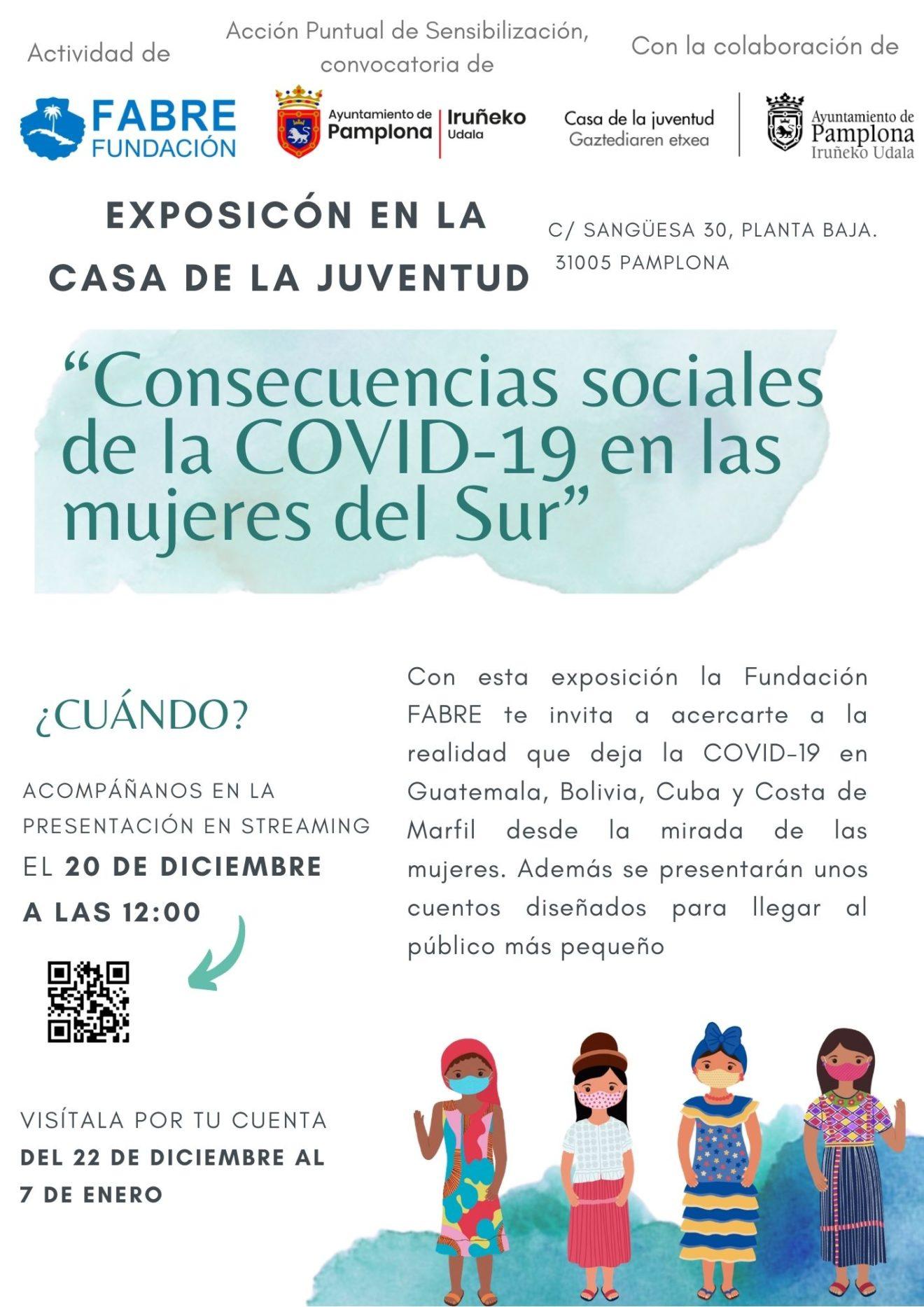 """""""Consecuencias sociales de la Covid-19 en las mujeres del Sur"""""""