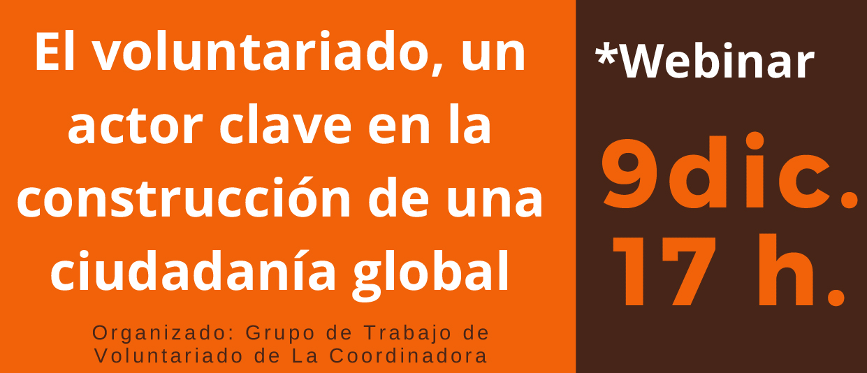 Webinar - Día Internacional del Voluntariado