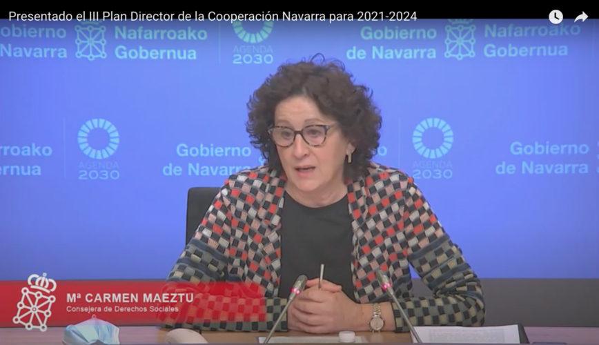 El III Plan de Cooperación de Navarra 2021-2024 obtiene el consenso y apoyo unánime de todos los agentes representados en el Consejo sectorial