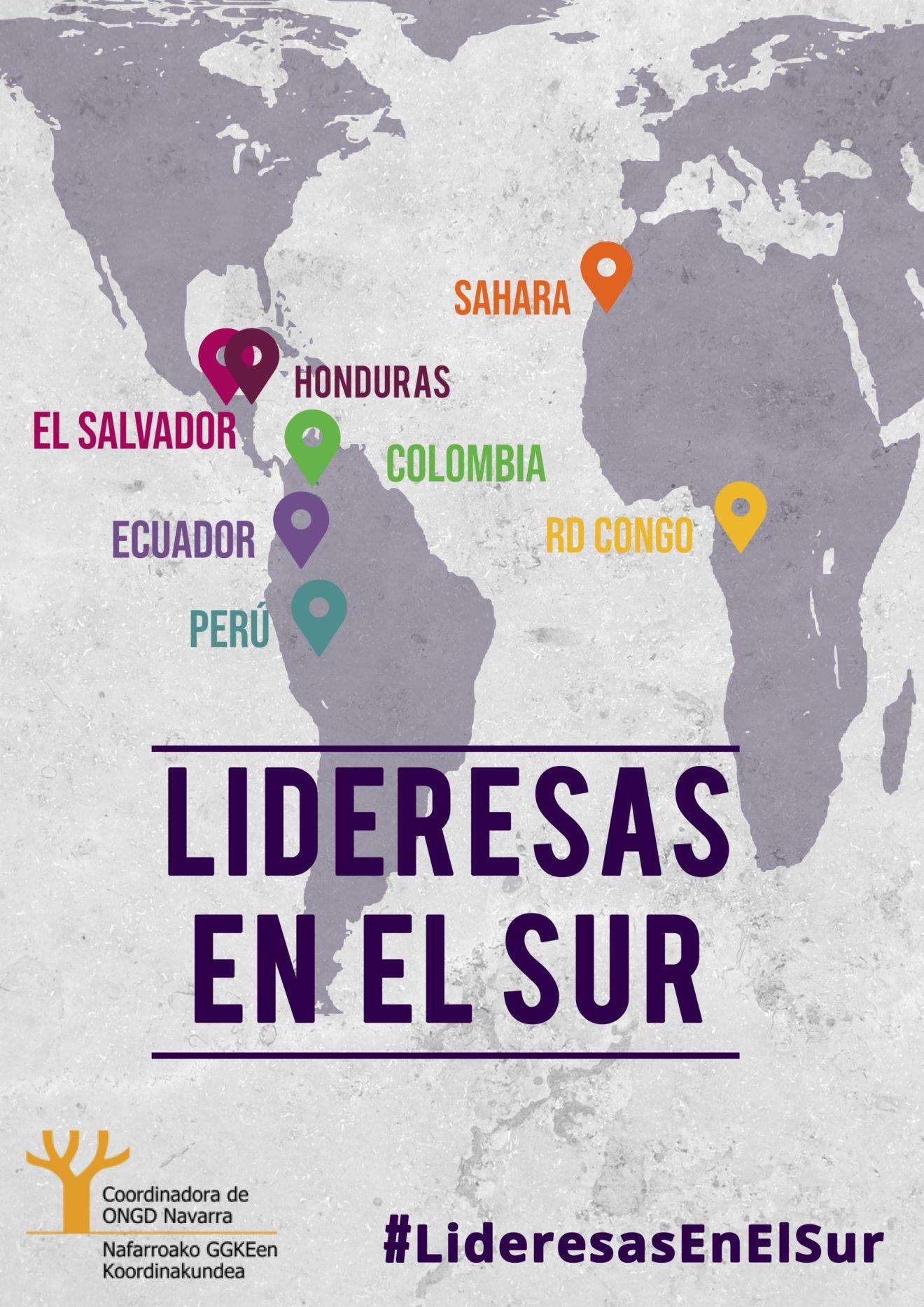 """Con motivo del 8 de marzo presentamos """"Lideresas en el Sur"""" para poner cara y voz a mujeres con las que trabajan nuestras ONGD"""
