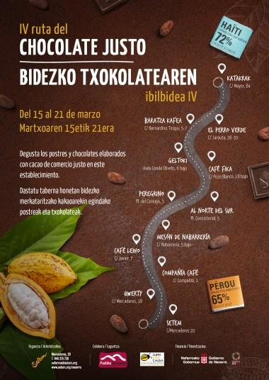 IV Edición de la Ruta del Chocolate Justo