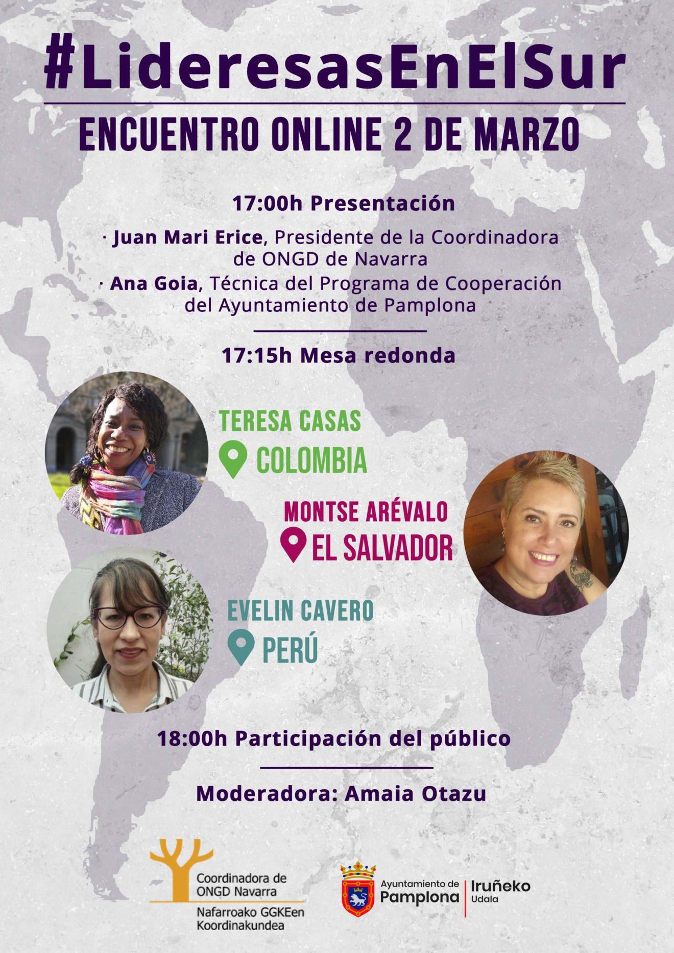 Encuentro Online Lideresas en el Sur