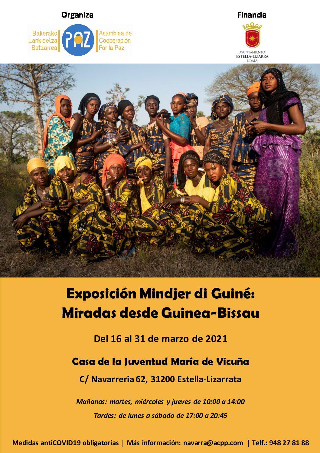 Exposición Mindjer di Guiné: Miradas desde Guinea-Bissao