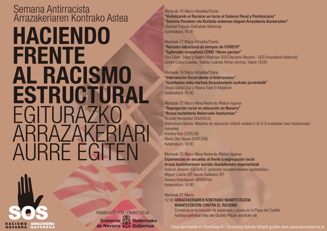 Semana Antirracista: Haciendo frente al Racismo Estructural