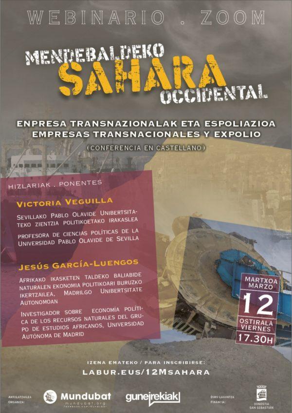 Sahara Occidental: Empresas transnacionales y expolio