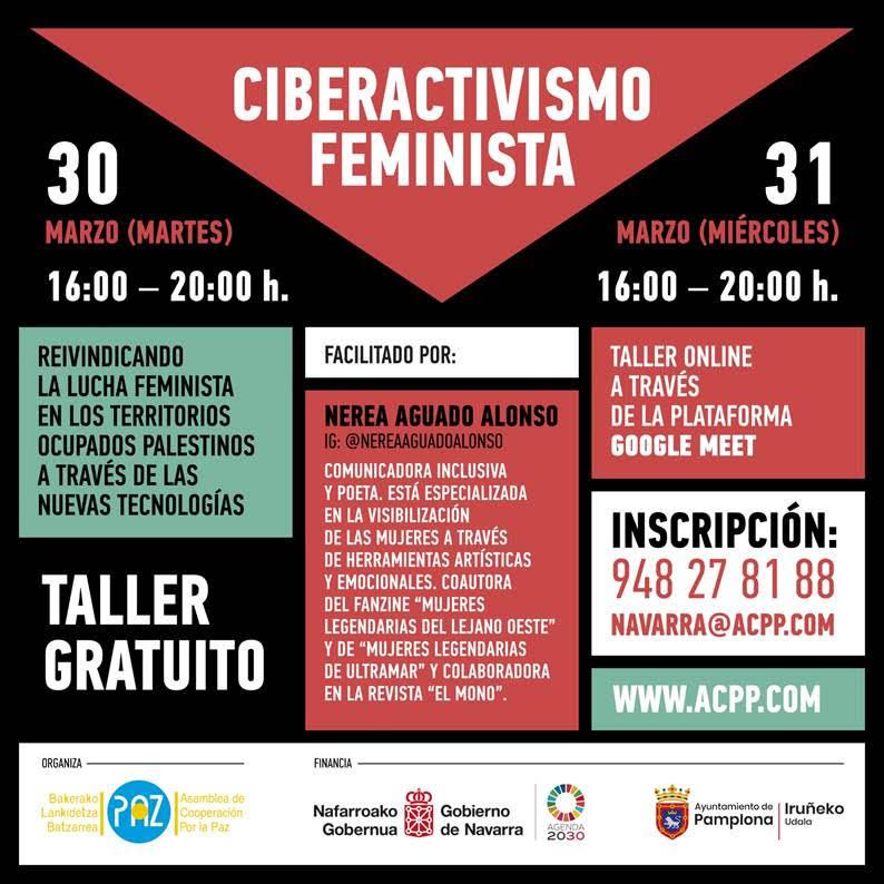 TALLER CIBERACTIVISMO FEMINISTA