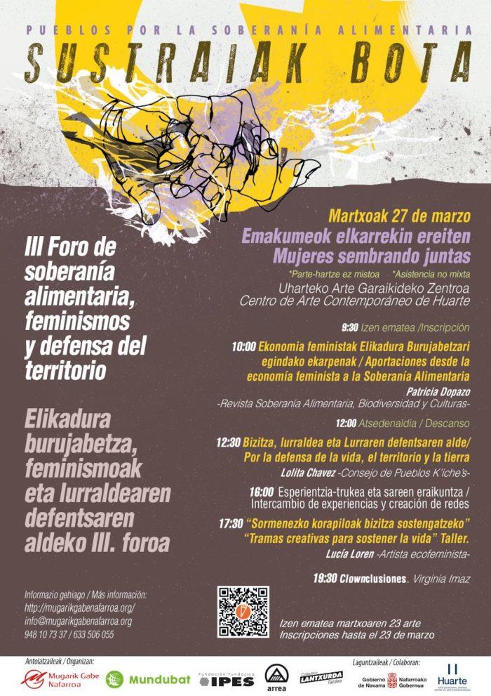 III Foro soberanía alimentaria, feminismos y defensa del territorio