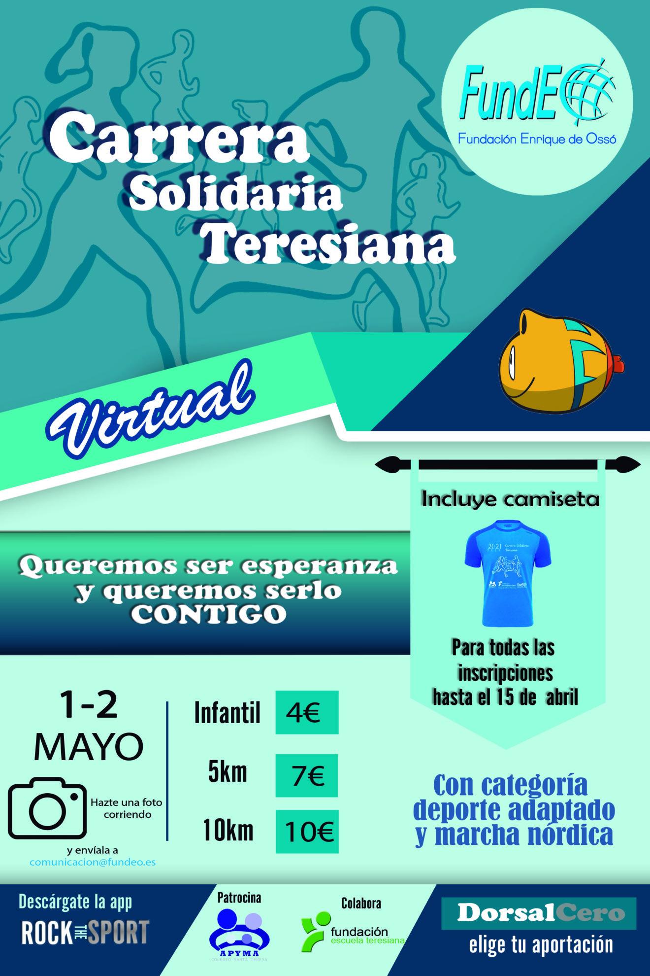 Carrera Solidaria Virtual