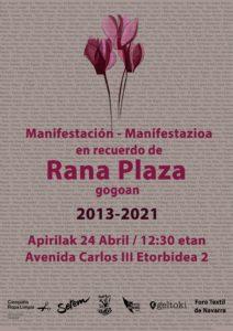 Presentación del Informe SETEM - Campaña Ropa Limpia y Manifestación en recuerdo de Rana Plaza