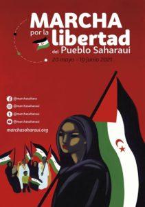 La Marcha por la libertad del Pueblo Saharaui