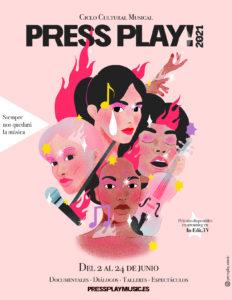 Ciclo Cultural PRESS PLAY 2021!