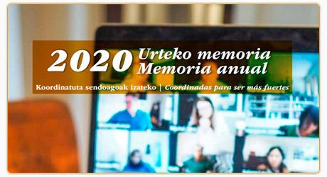 Memoria CONGD Navarra 2020