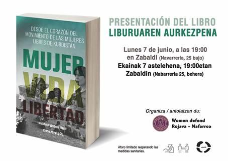 """Presentación libro """"Mujer, Vida y Libertad"""""""