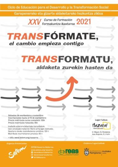 Curso de Formación TransFórmate: el cambio empieza contigo