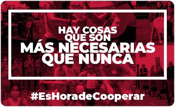 #EsHoradeCooperar