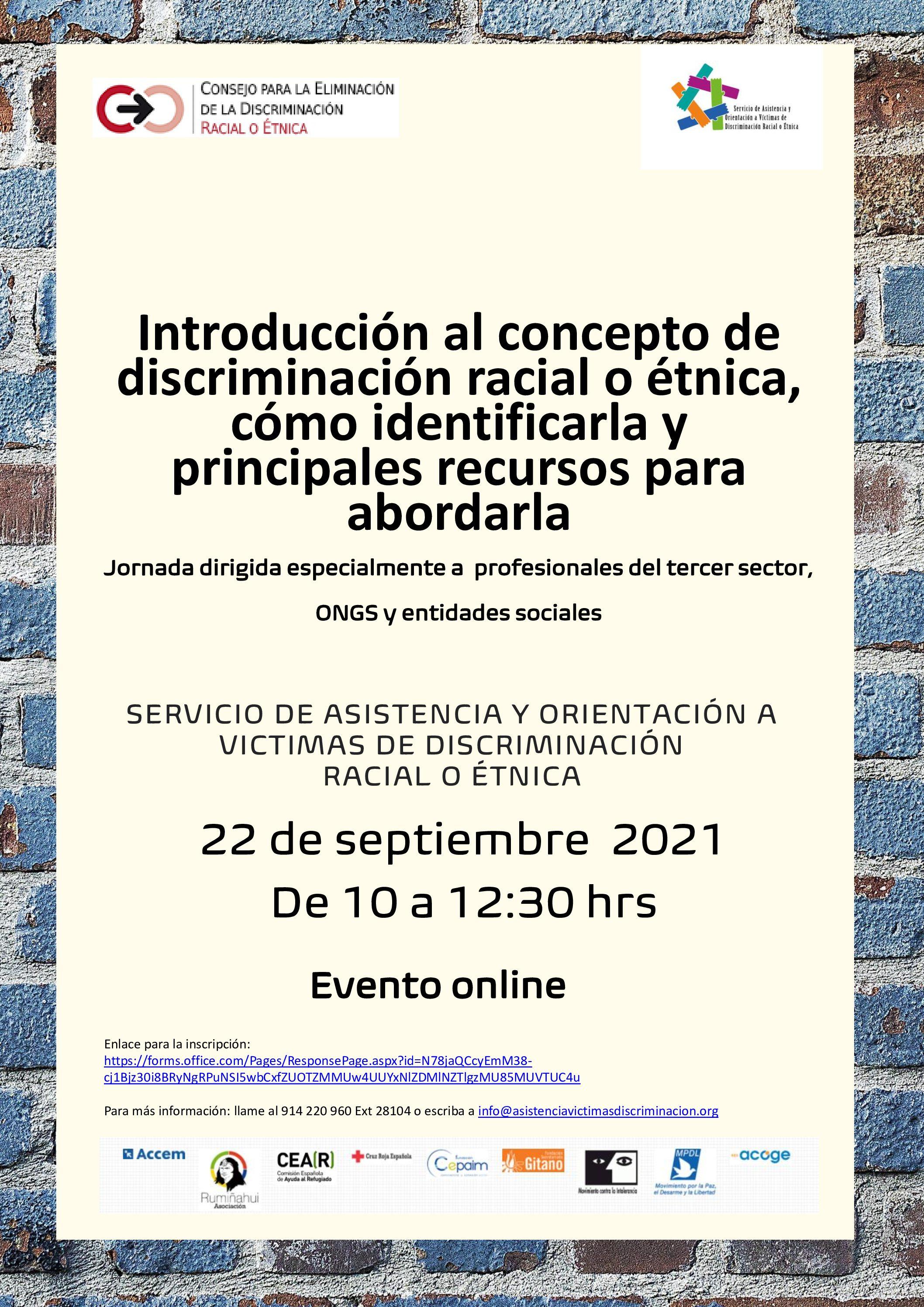 Jornada del Servicio de Atención de Víctimas de Discriminación Racial o étnica