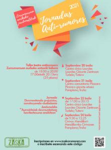 Jornadas Antirrumores (20,21,23 y 24 septiembre)