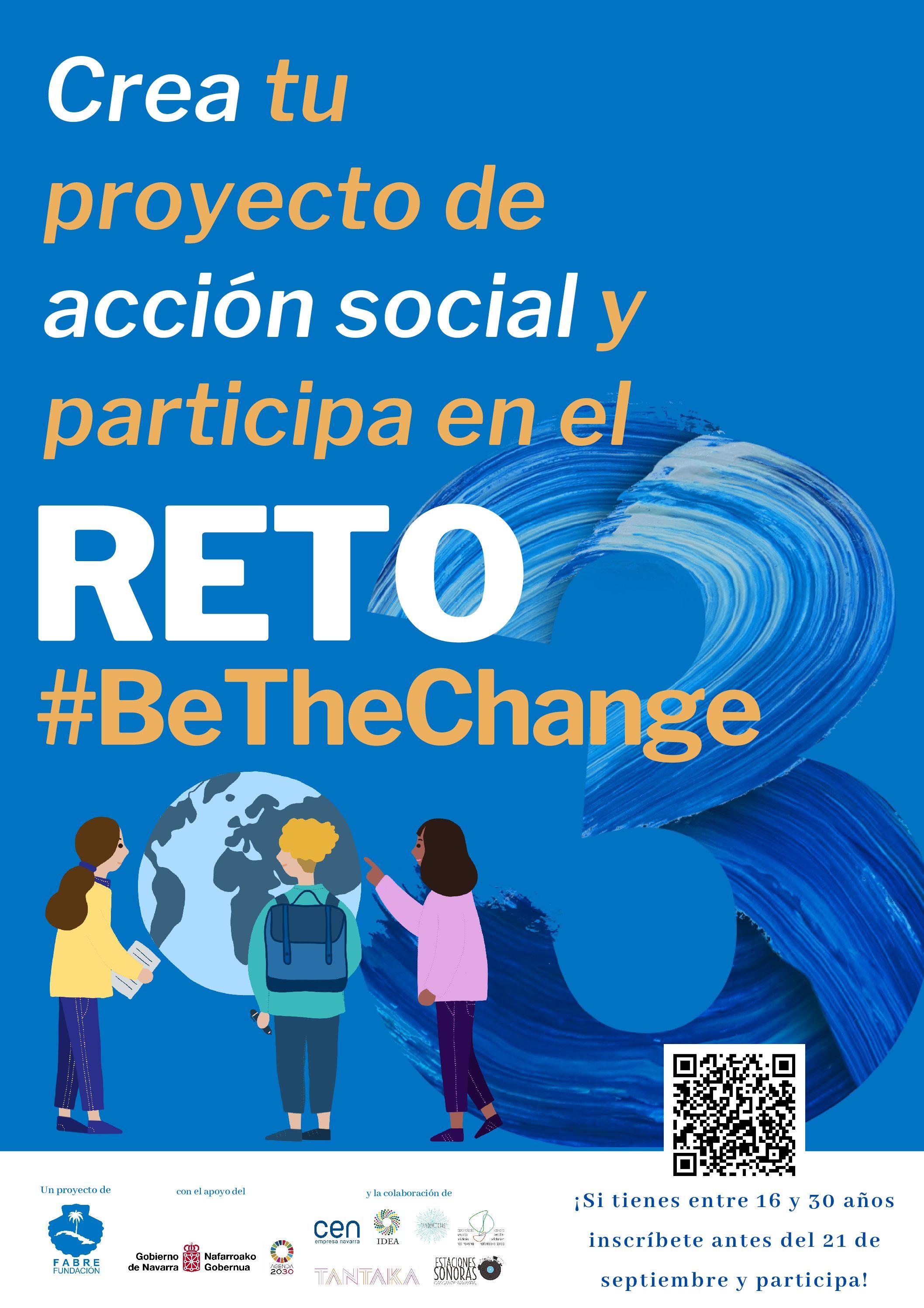 III Edición del Reto #BeTheChange (inscripciones hasta 21 Sept)