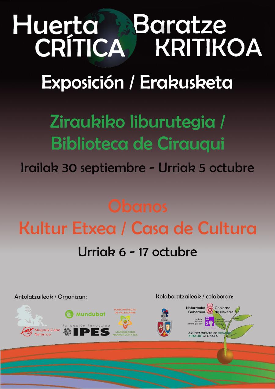 Huerta Crítica Exposición / Baratze Kritikoa Erakusketa