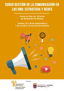 CURSO GESTIÓN DE LA COMUNICACIÓN EN LAS ONG: ESTRATEGIA Y REDES